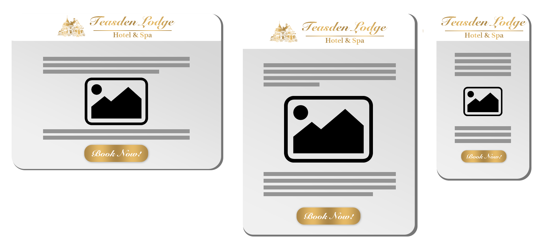 Emails will be viewed on all devices so a responsive template is a must.