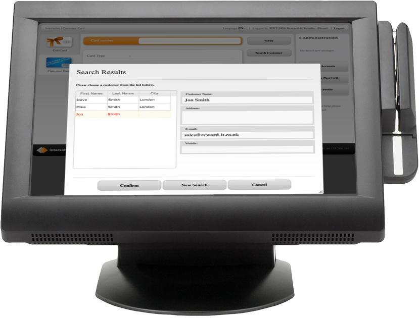 merchant web terminal