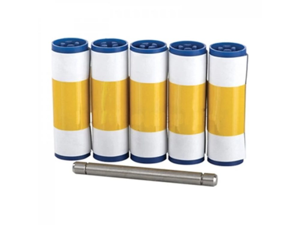 PriceCardPro cleaning rollers and spindle
