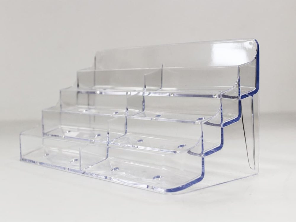 8 compartment display for gift cards