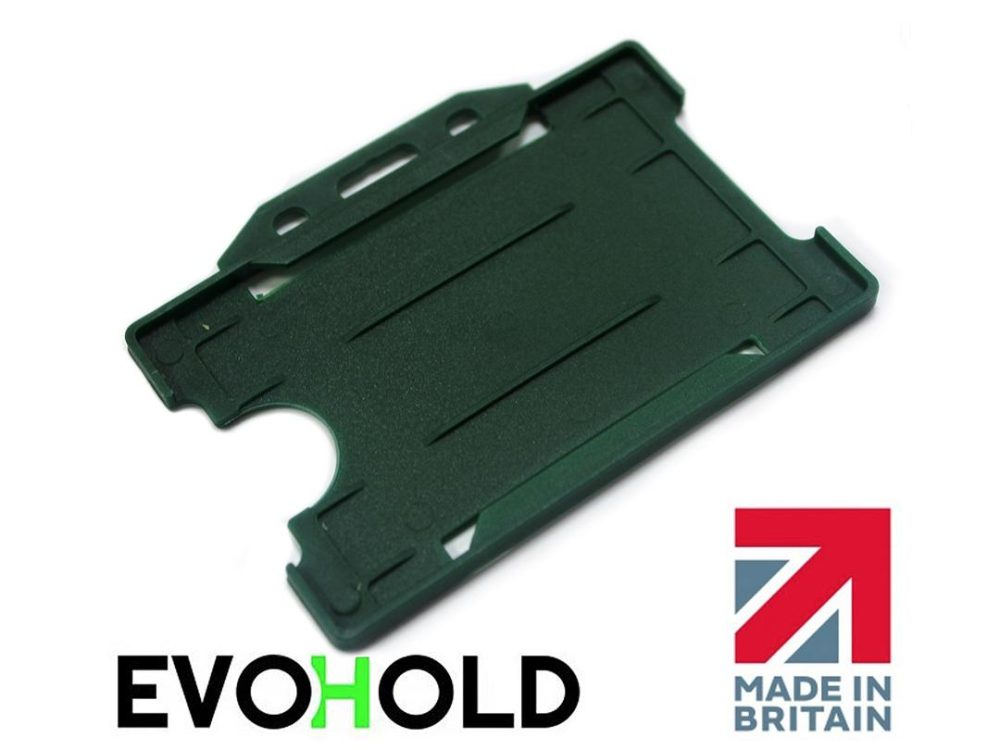 dark green card holder