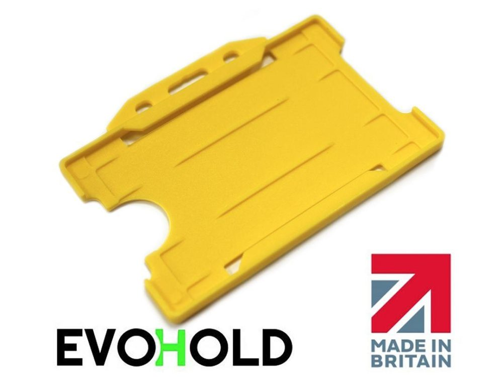 yellow card holder