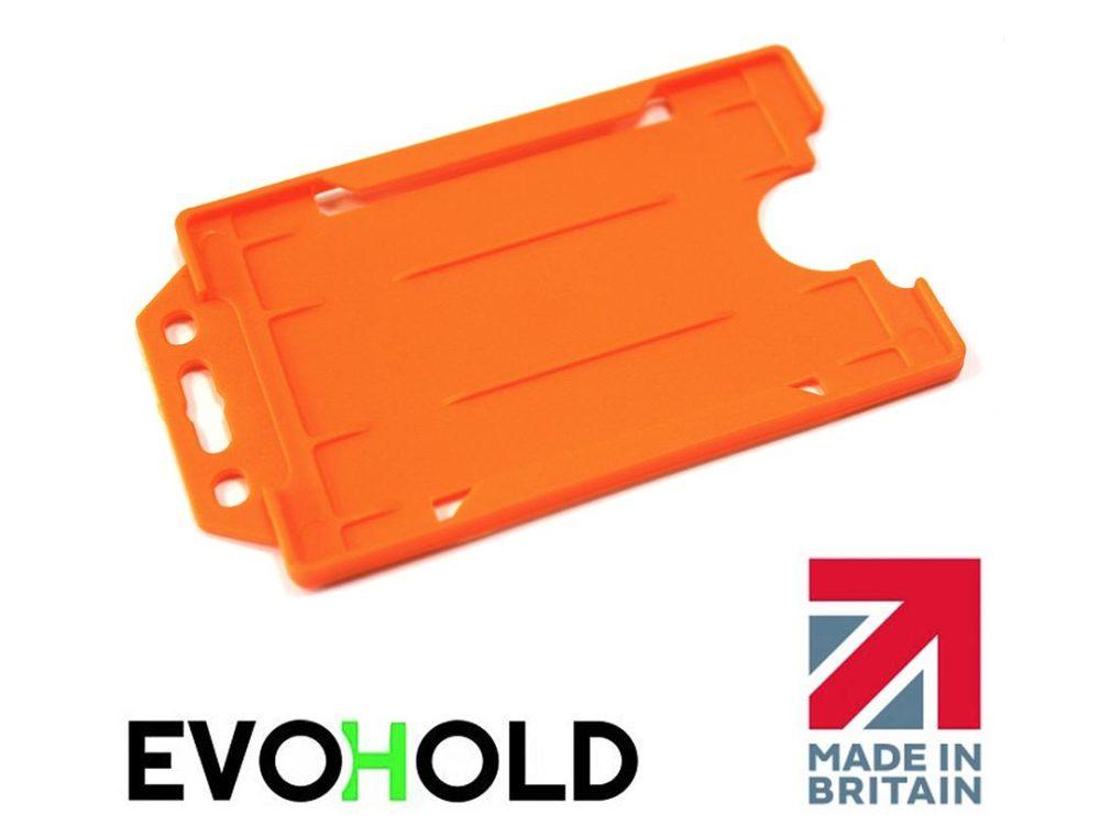 orange card holder