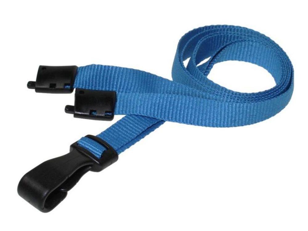 10mm light blue lanyard