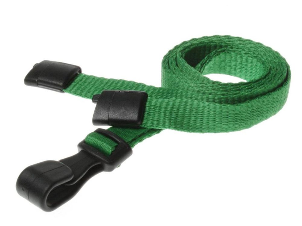 10mm light green lanyard