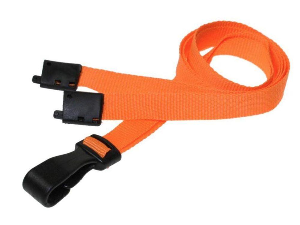 10mm orange lanyard