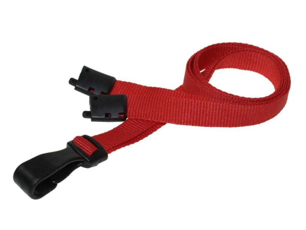 10mm red lanyard
