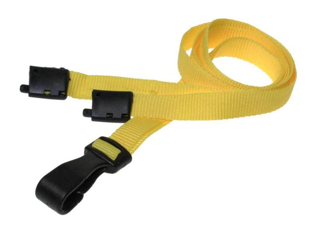 10mm yellow lanyard