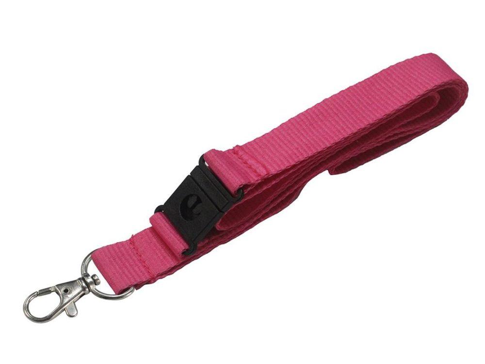 20mm pink lanyard