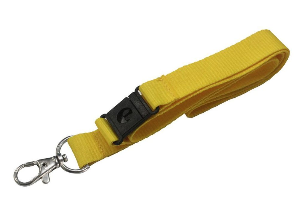 20mm yellow lanyard
