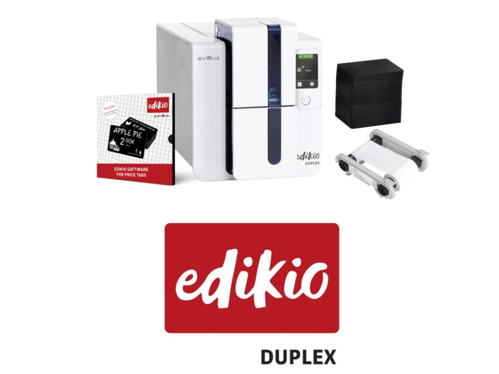 edikio duplex printer bundle with consumables