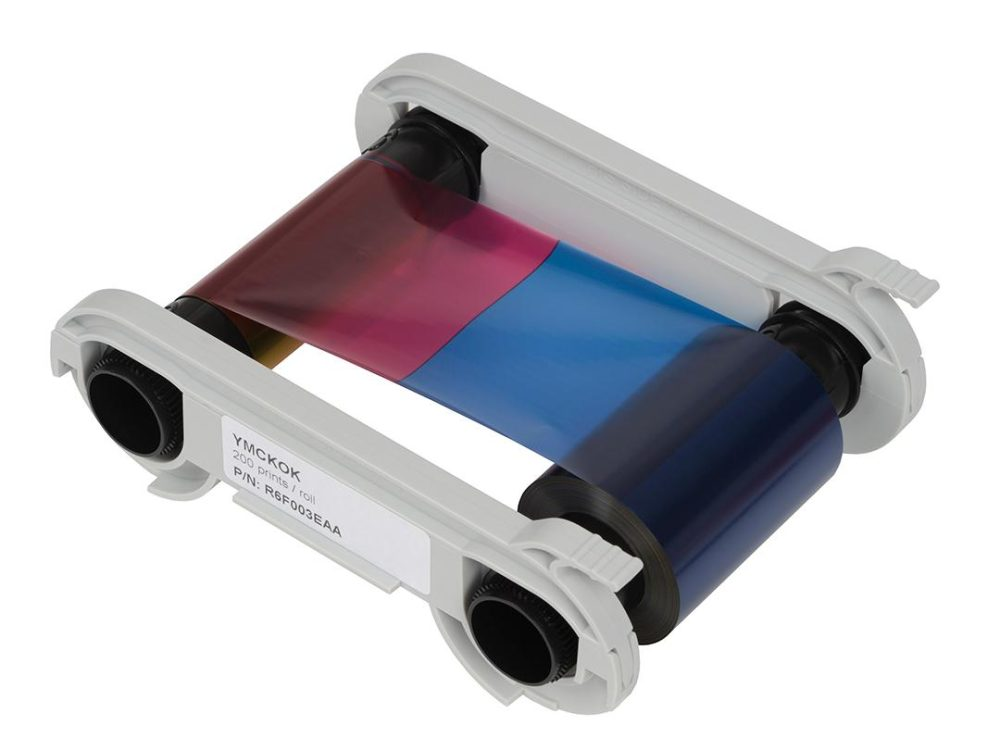 evolis ymckok printer ribbon