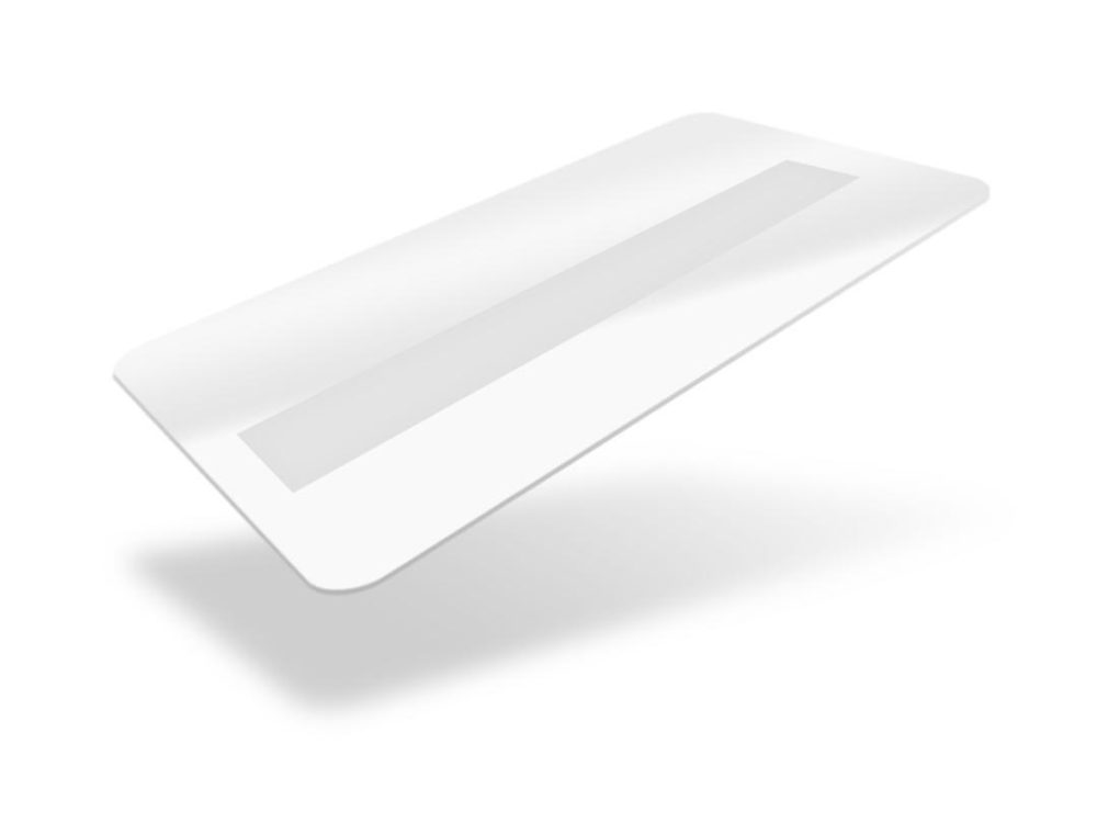white fotodek blank cards with signature panel
