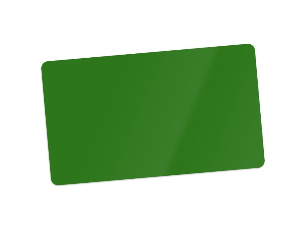green blank cards