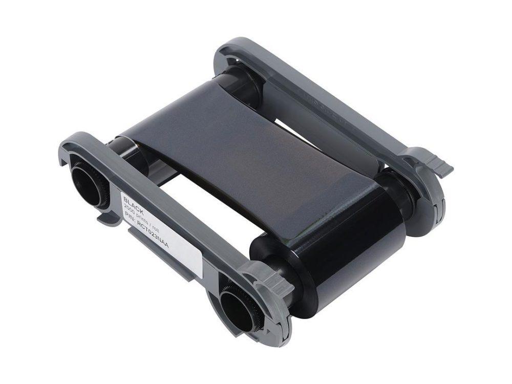 evolis primacy black printer ribbon