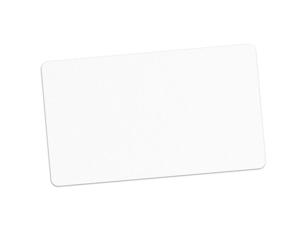 paper white blank cards