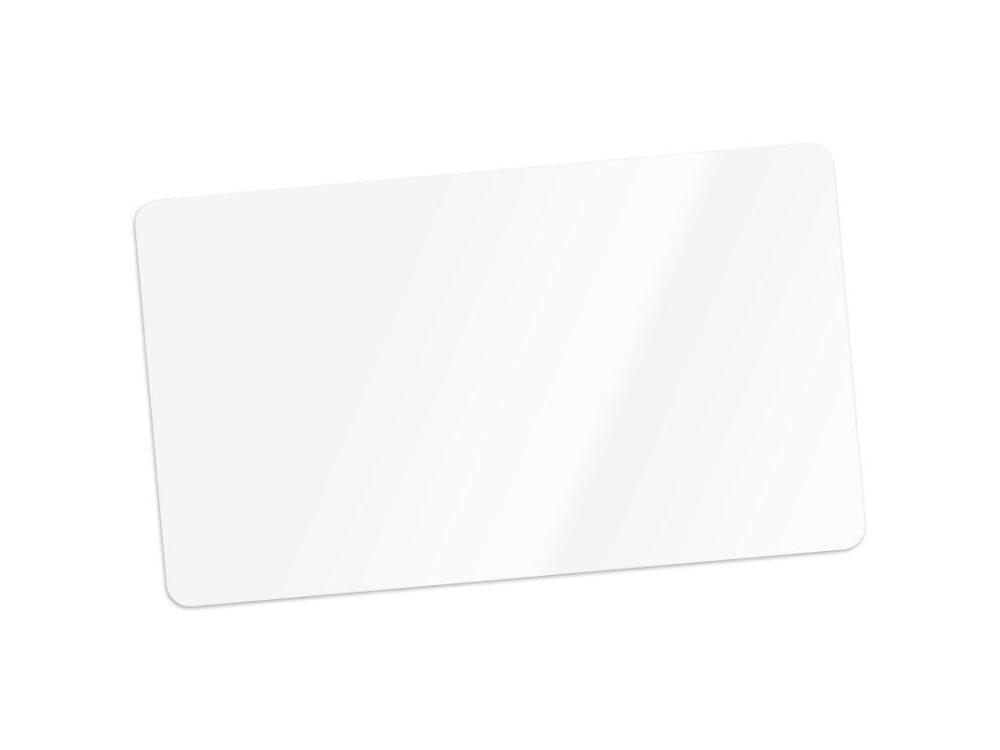 pvc white blank cards