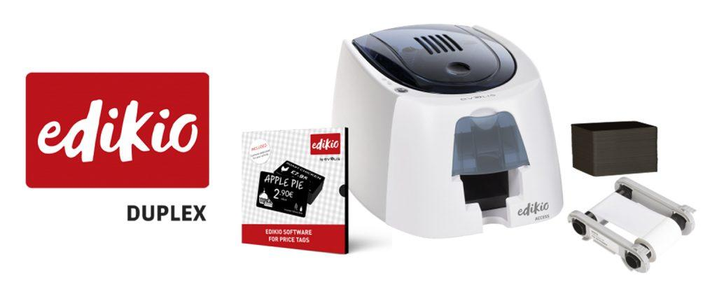 Edikio Access printer with bundle contents