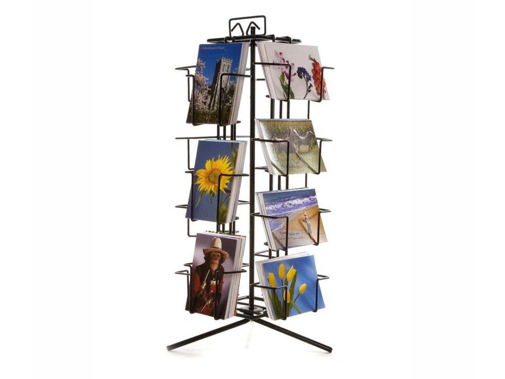 postcard stand