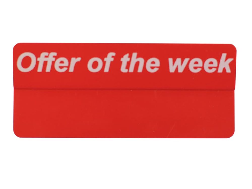 Offer of the Week Red Topper