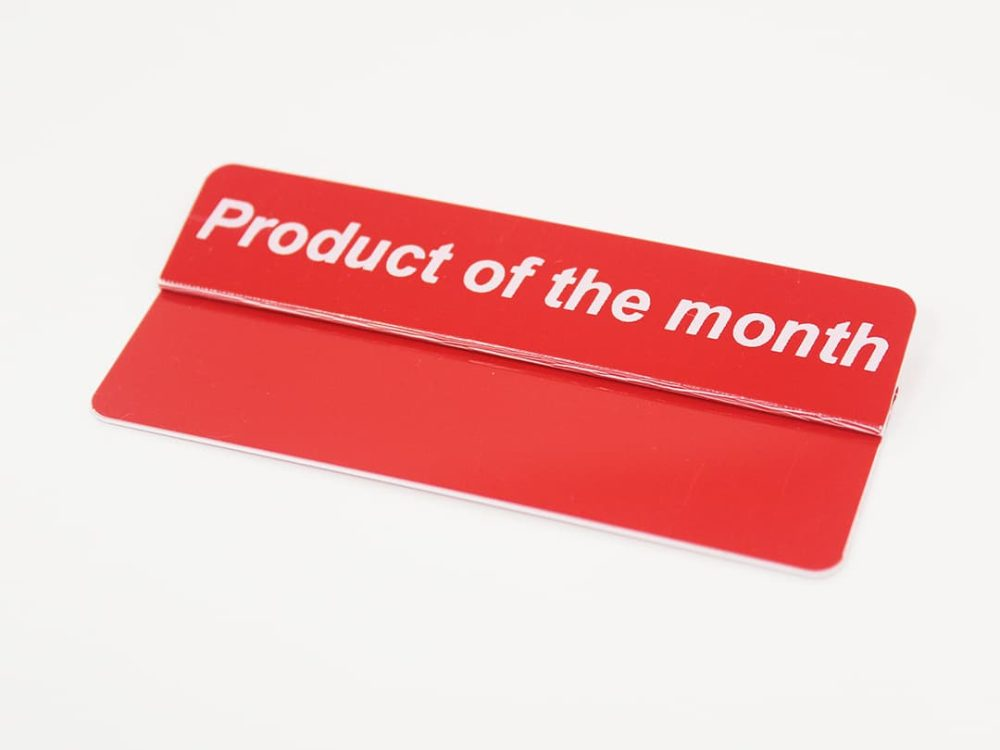 Product of the Month Topper