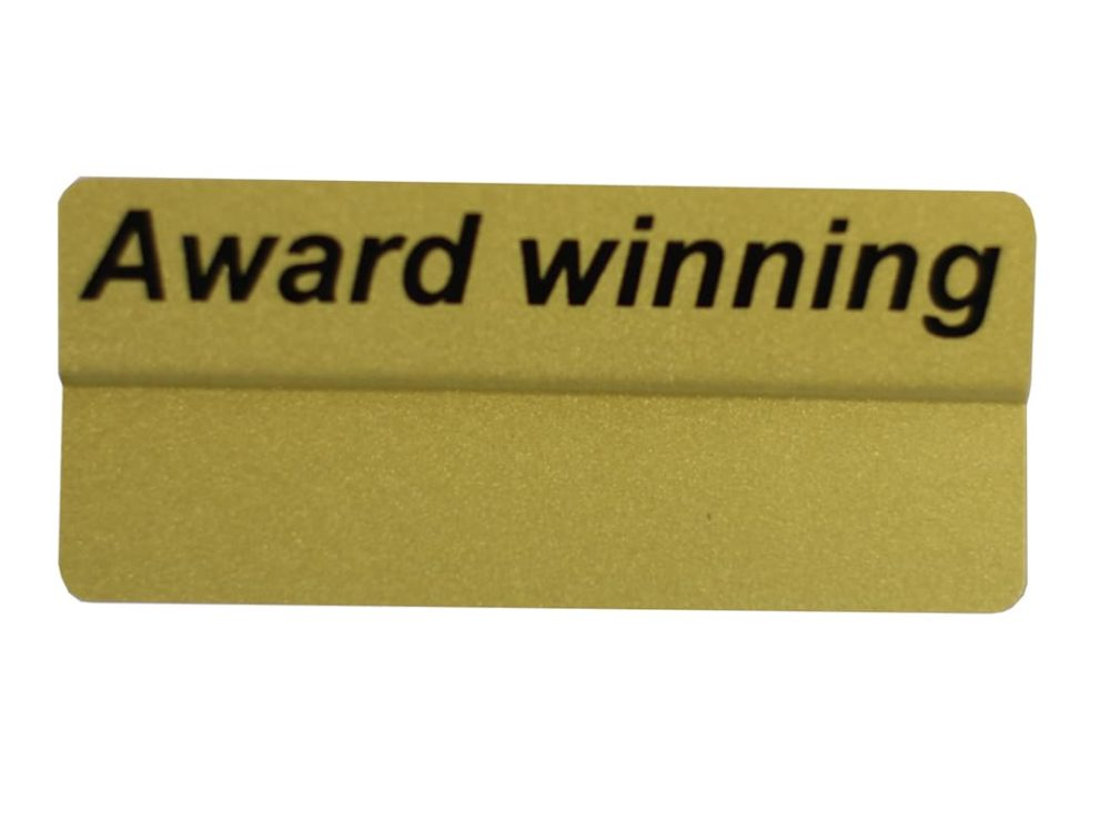 Award Winning Topper