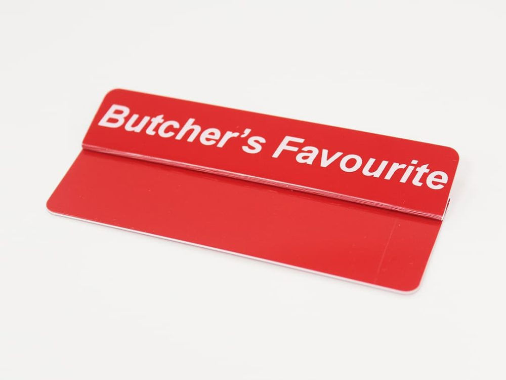 Butcher's Favourite Topper