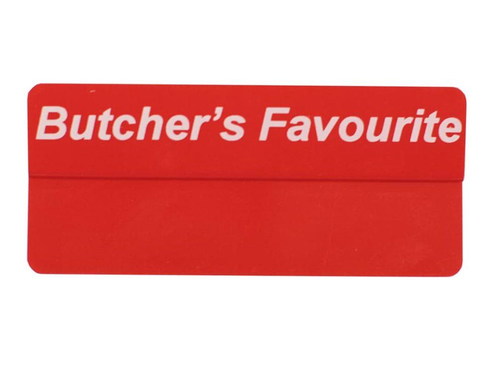 Butcher's Favourite Topper