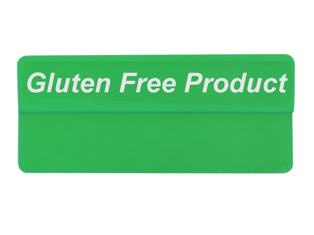 Gluten Free Product Green Topper