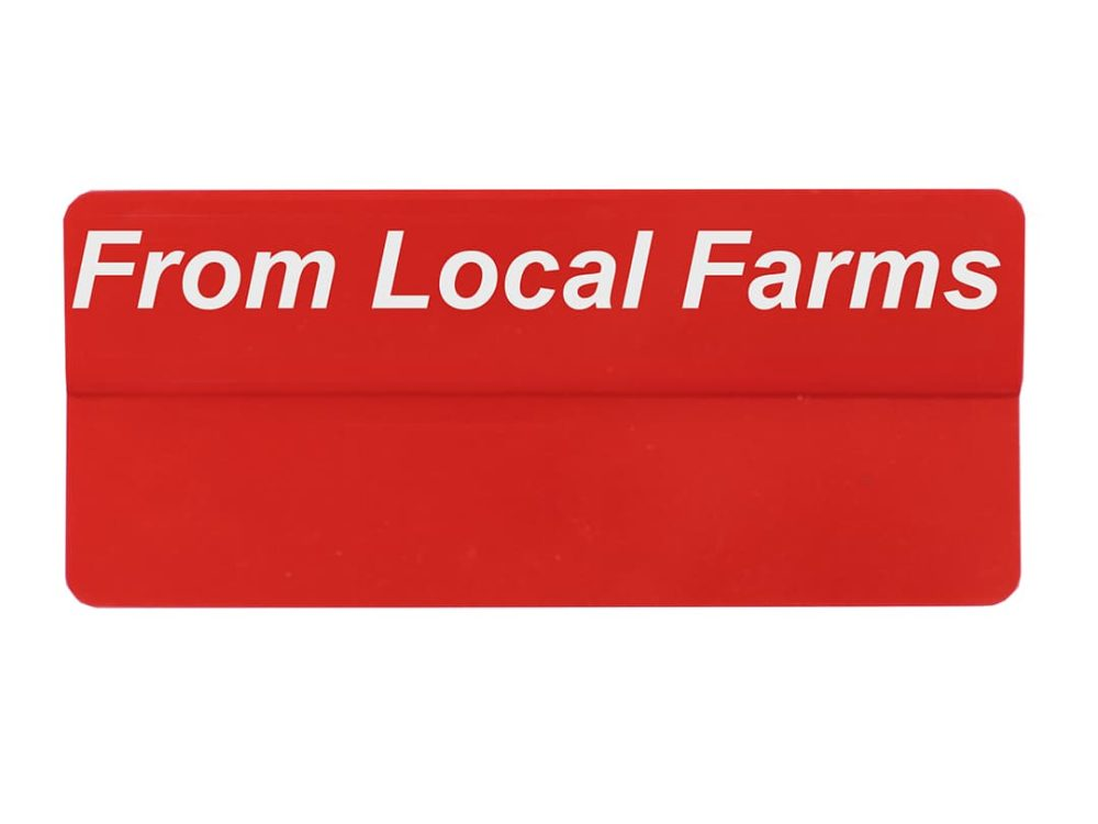 From Local Farms Topper