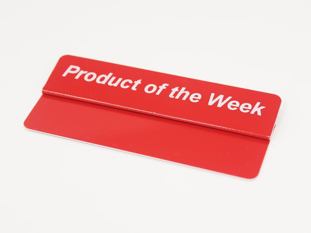 Product of the Week Topper