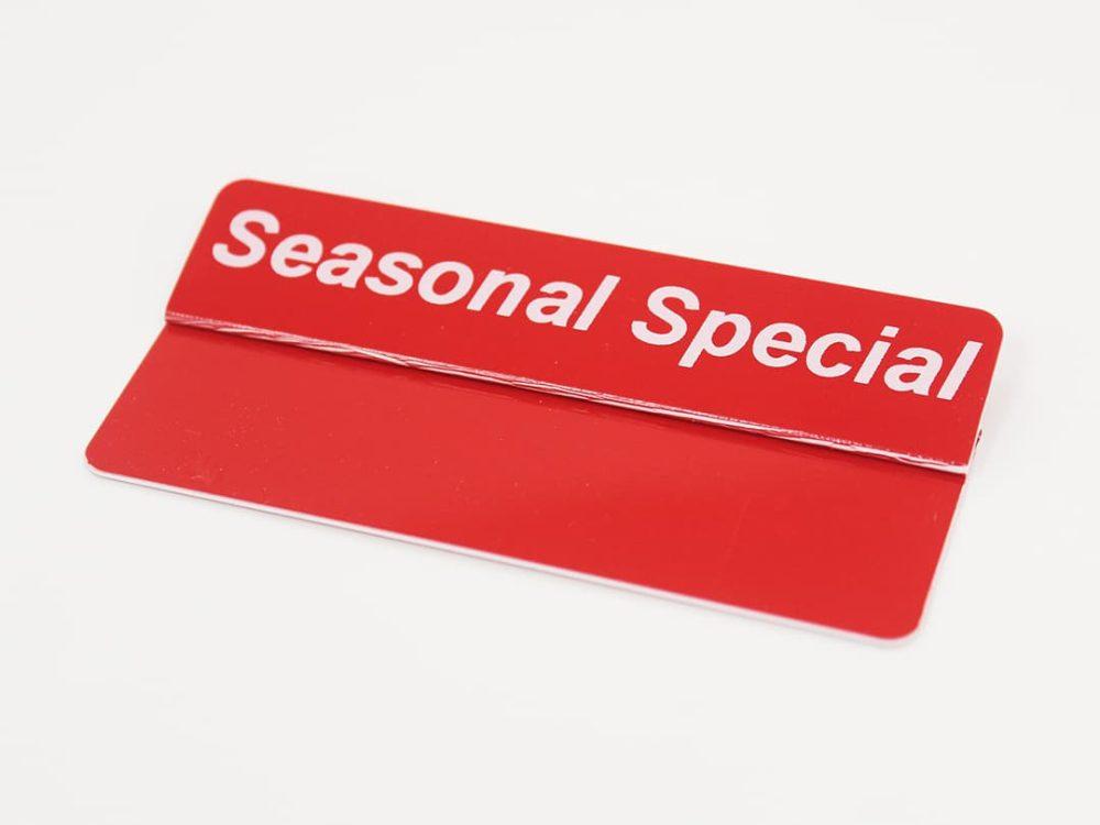 Seasonal Special Topper
