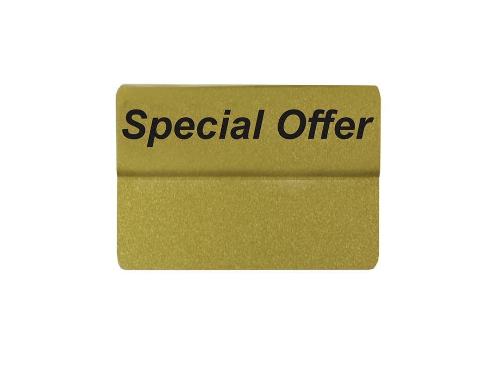 Special Offer Topper