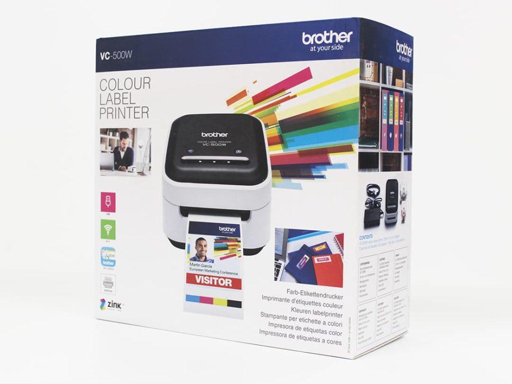 Brother VC-500W Label Printer Box