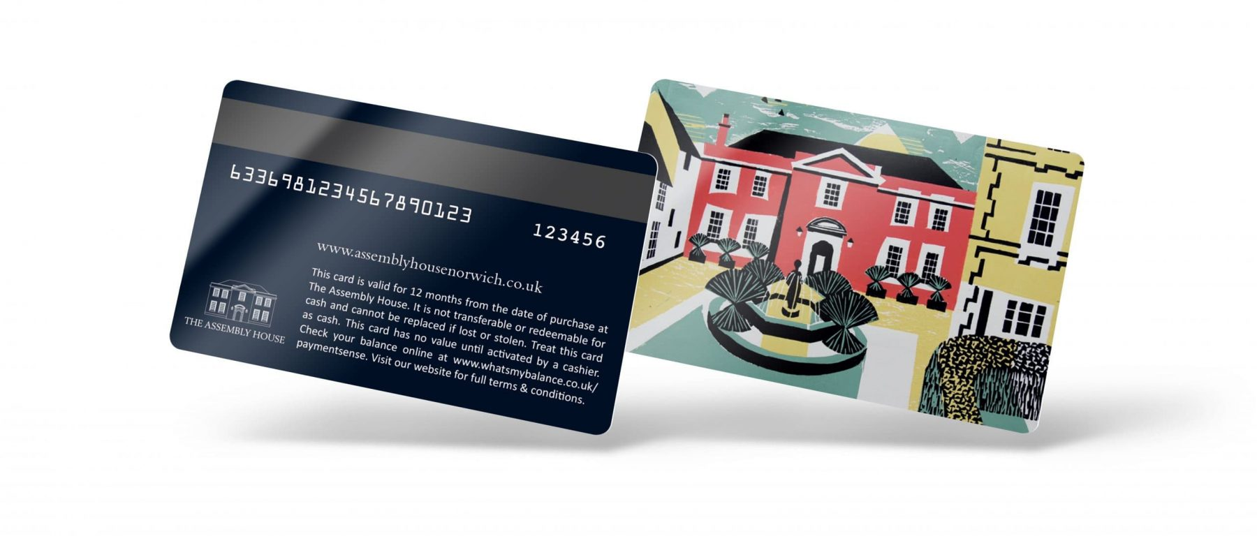 Norfolk Passport Loyalty Card Front and Back