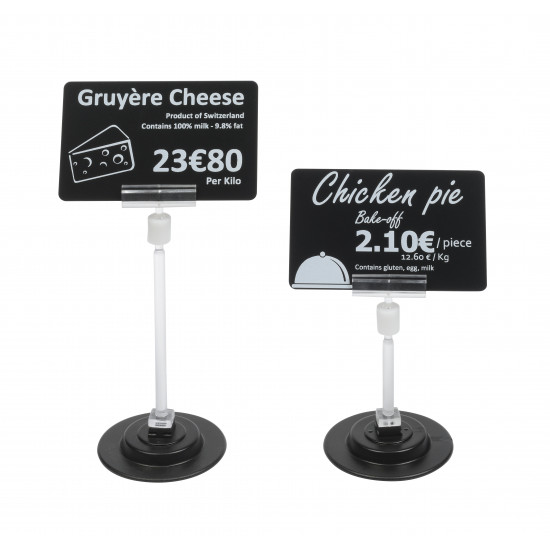 Magnetic Spike Ticket Stands (80mm Height)