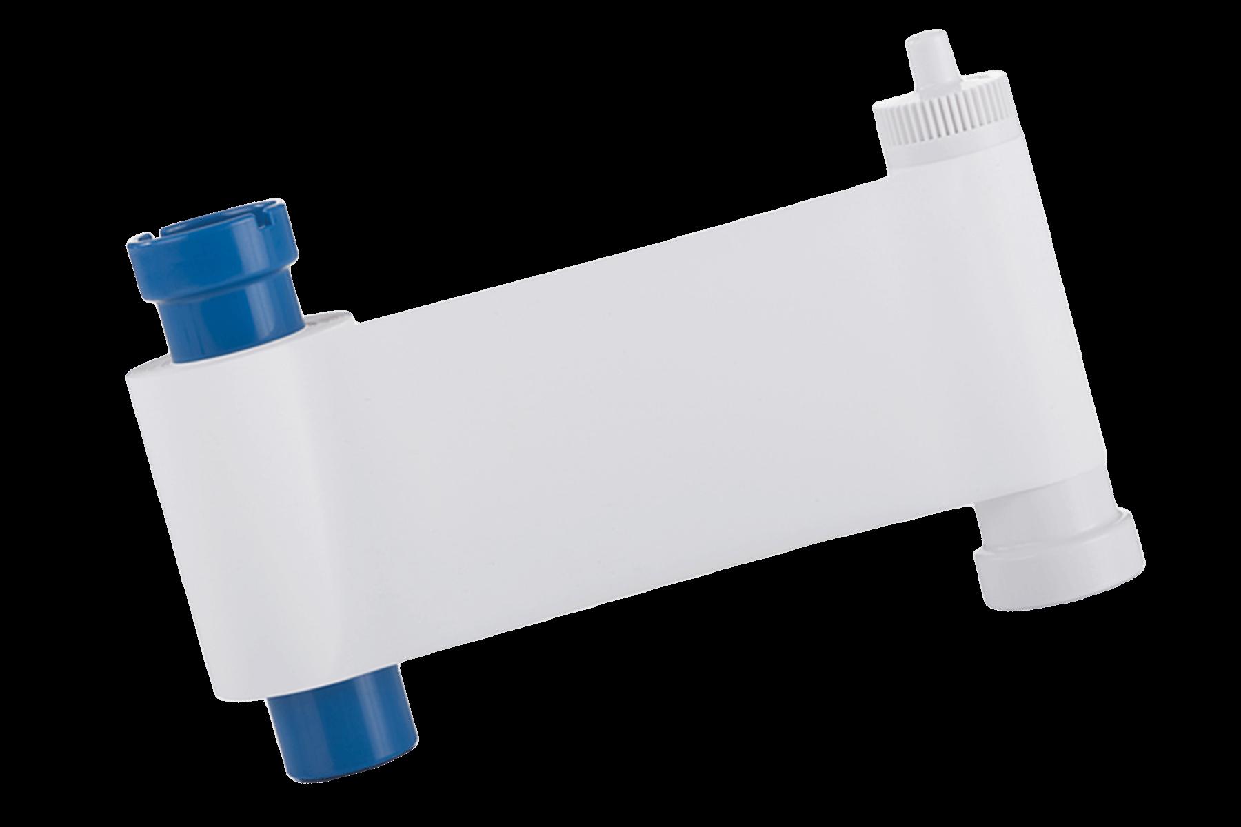 Monochrome white ribbon for PriceCardPro printers