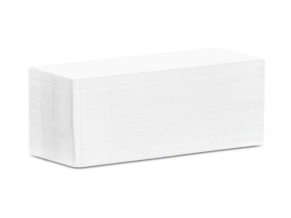 Edikio 120x50mm white cards