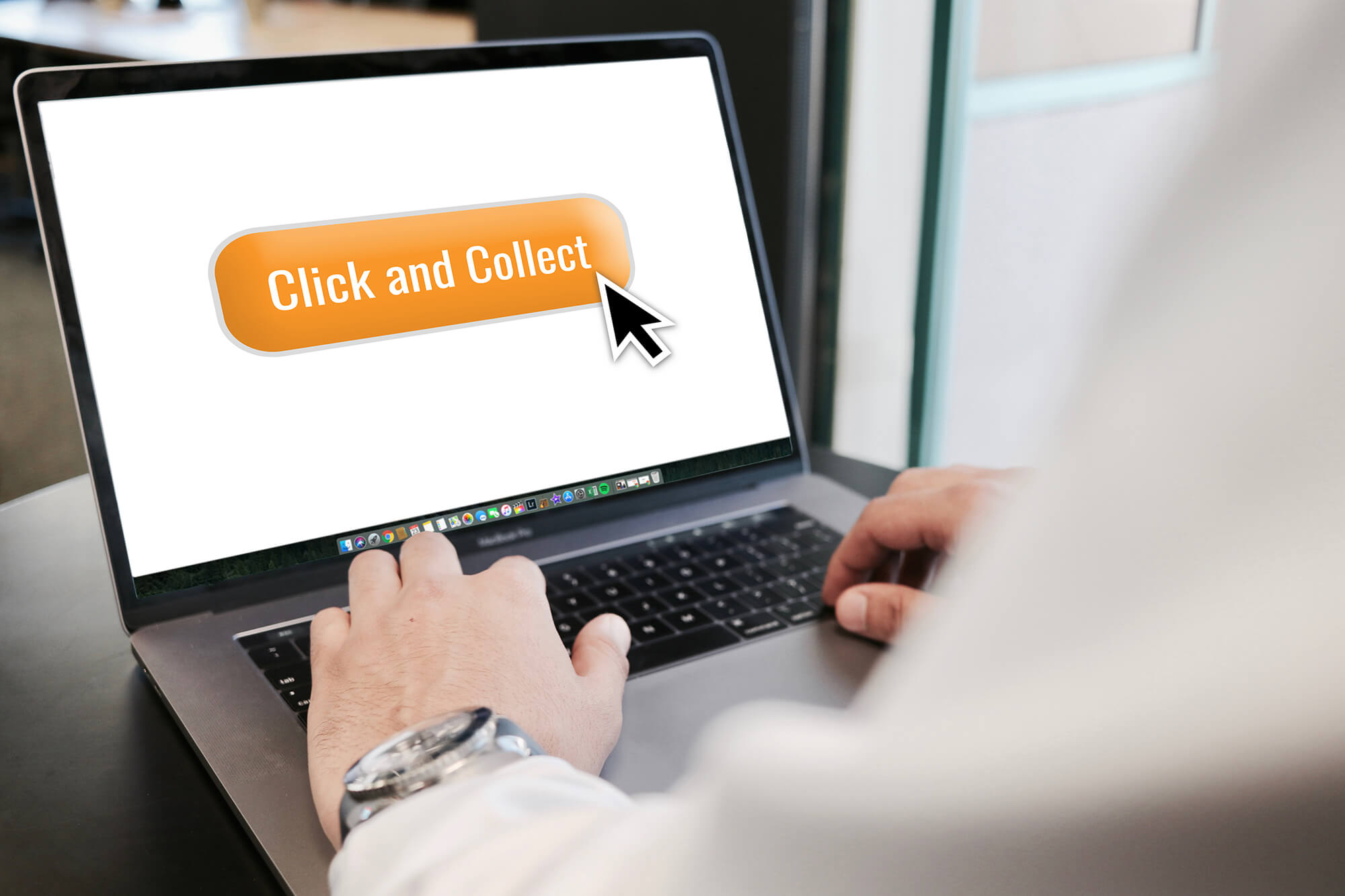 Online click and collect services