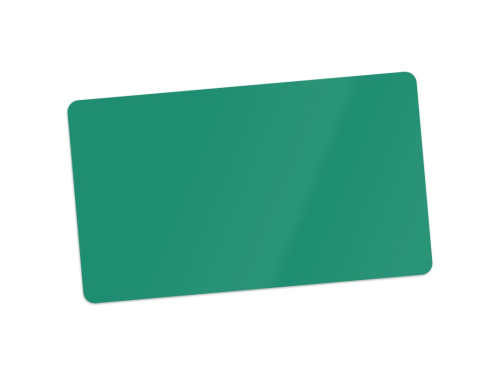 Edikio Green PVC Card for price signs