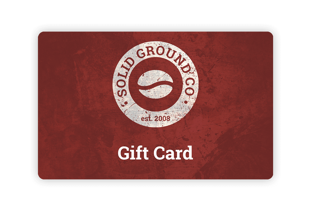 Solid Ground Co café gift card