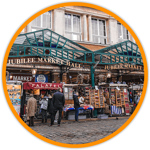 UK market square