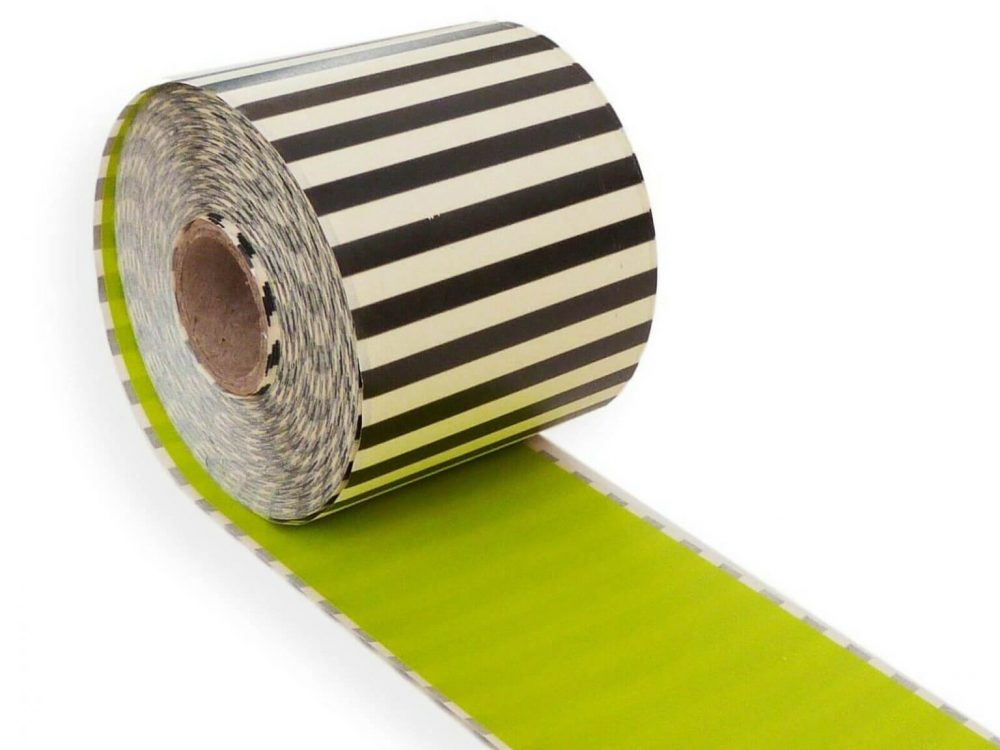 Green 62mm x 30m continuous label