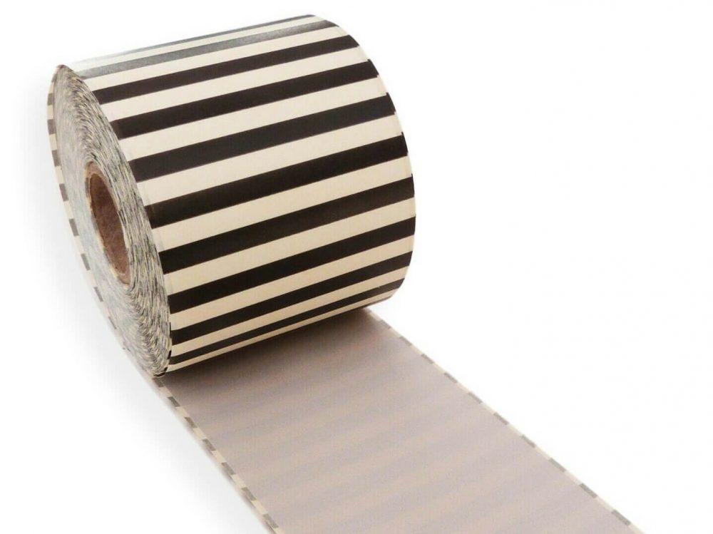 Pale pink 62mm x 30m continuous label
