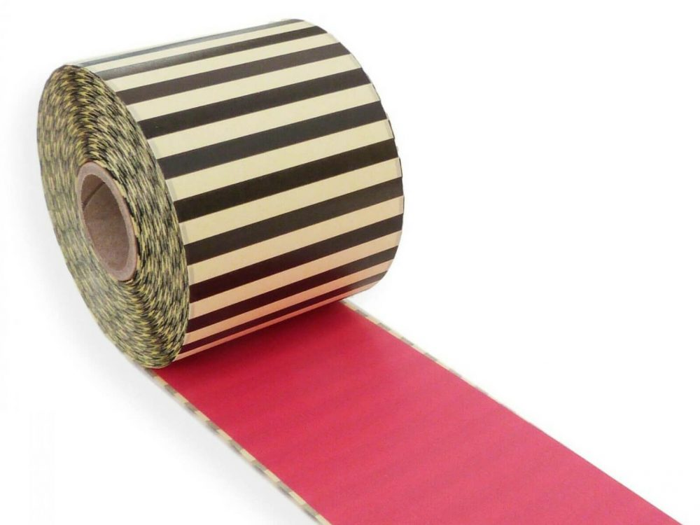 Hot Pink 62mm x 30m continuous label