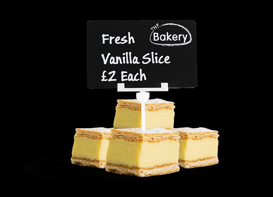Fresh lemon slices on display