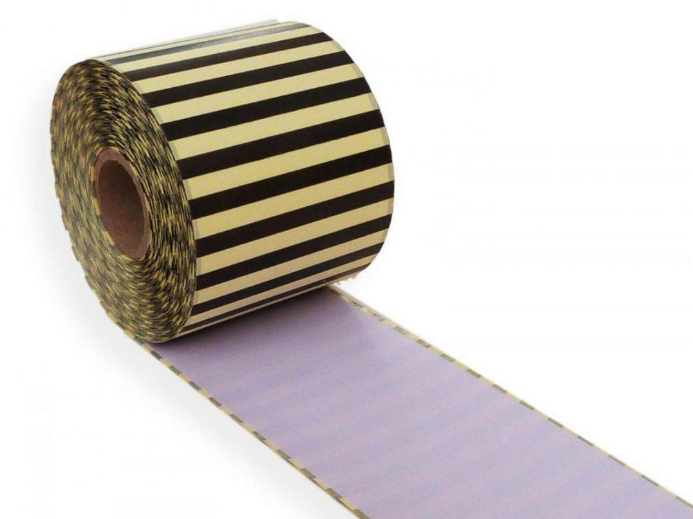 Lilac 62mm x 30m continuous label